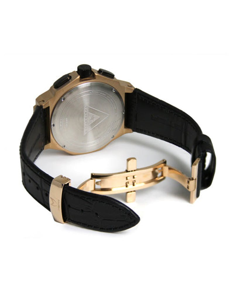 Ambassador Croc Band Black/gold