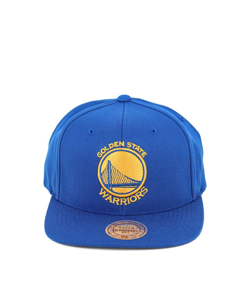 Warriors Flex 110 Snapback Blue/yellow