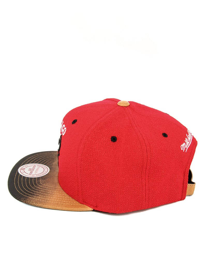 Bulls Painted Leather ST Red/black