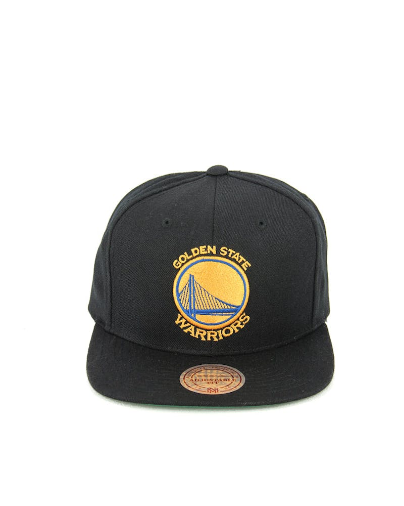 Golden State Wool Solid Snapback Black
