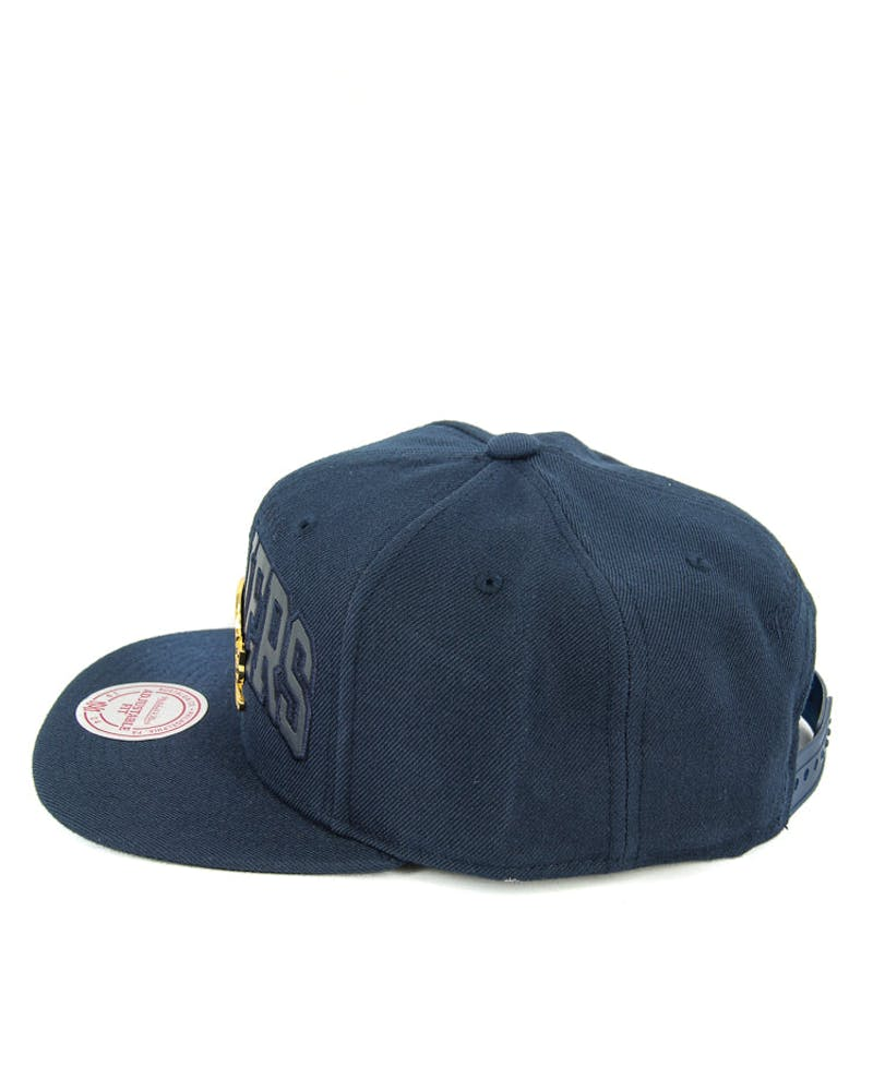 Cavaliers Lux Arch Snapback Navy/gold