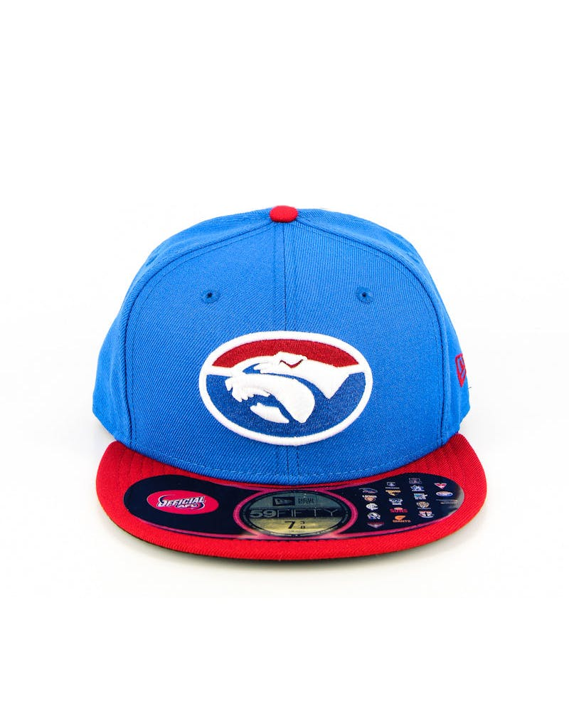 Western Bulldogs AFL Fashion Fitted Navy
