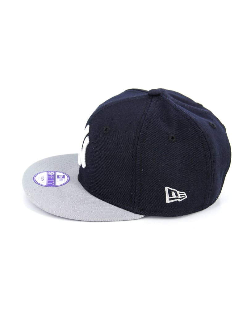 Yankees Youth Snapback Navy/grey/white