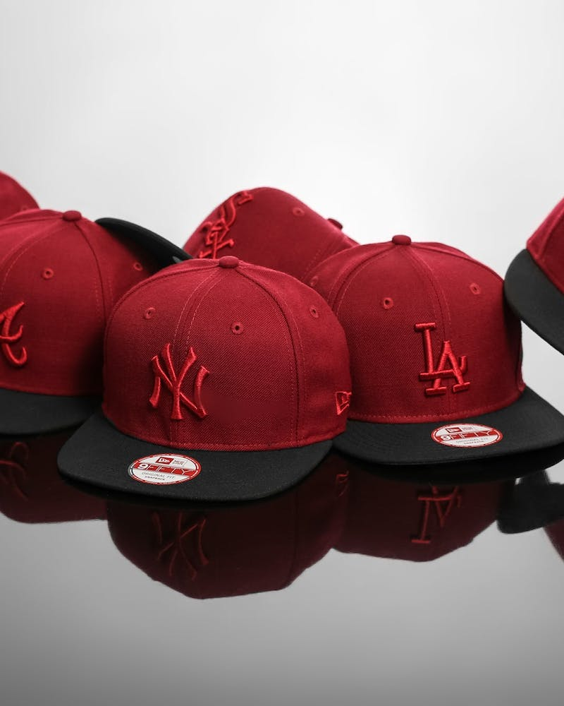 Yankees Original Fit Snapback Cardinal/black