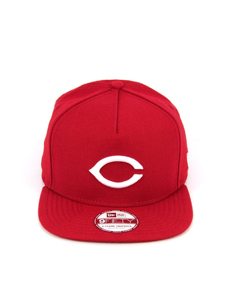 Reds A-frame Snapback Red/white/white