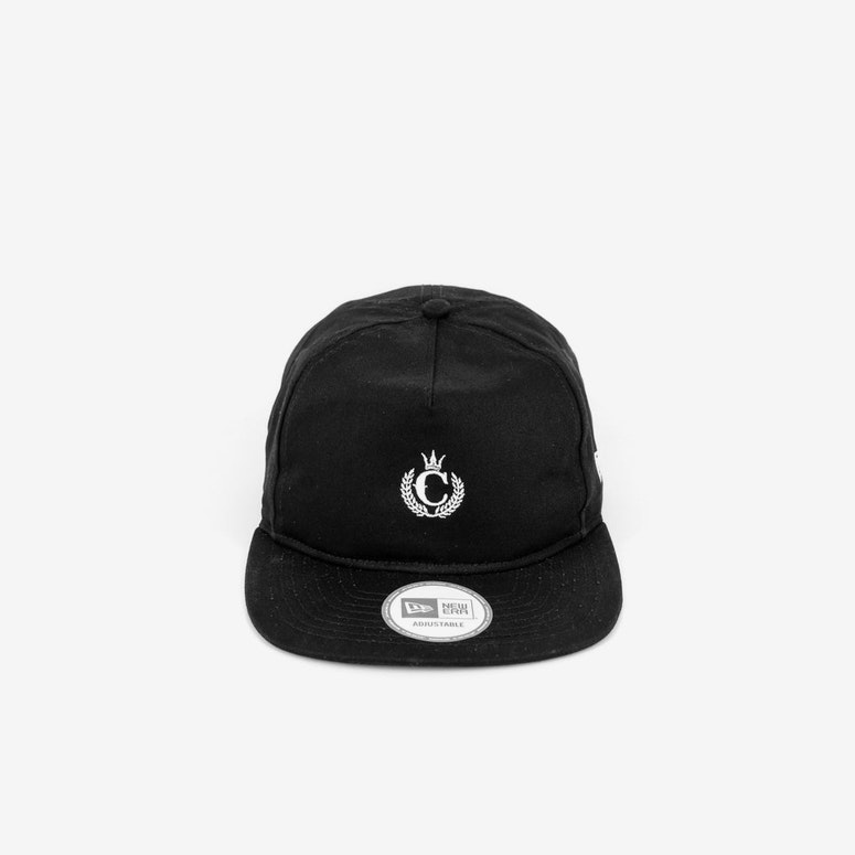 Old Golfer Strapback Black/white