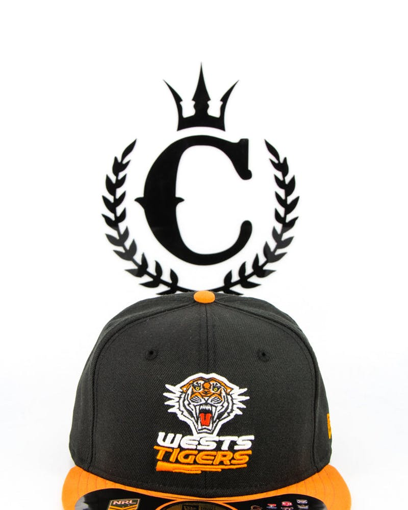 Wests Tigers Fashion Fitted 2013 Black/Orange
