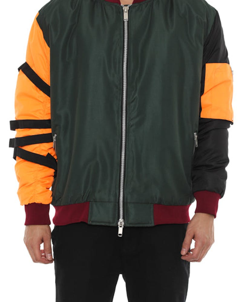 Kayak Bomber Jacket Multi-coloured
