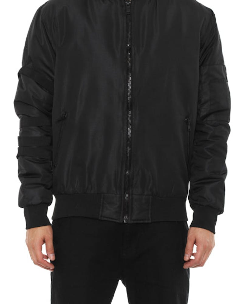 Kayak Bomber Jacket Black