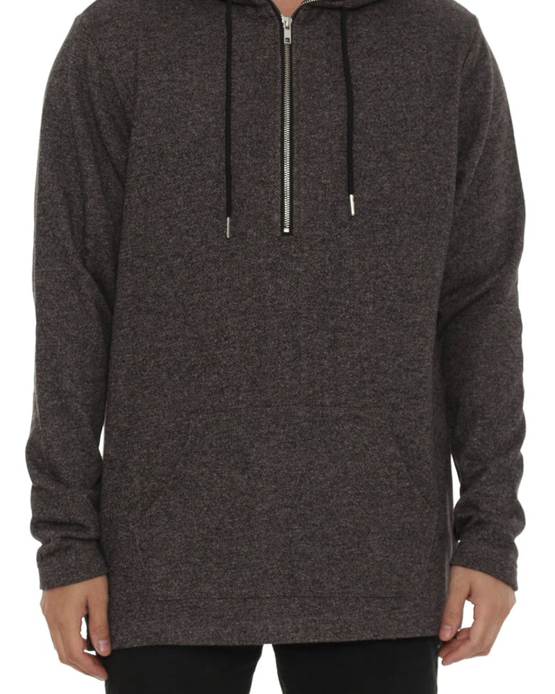 Mikko Pullover Hood Charcoal