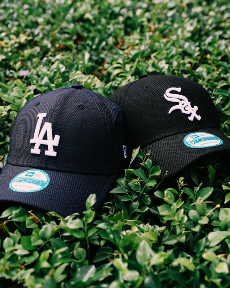 New Era Dodgers 9FORTY de Strapback Navy/white