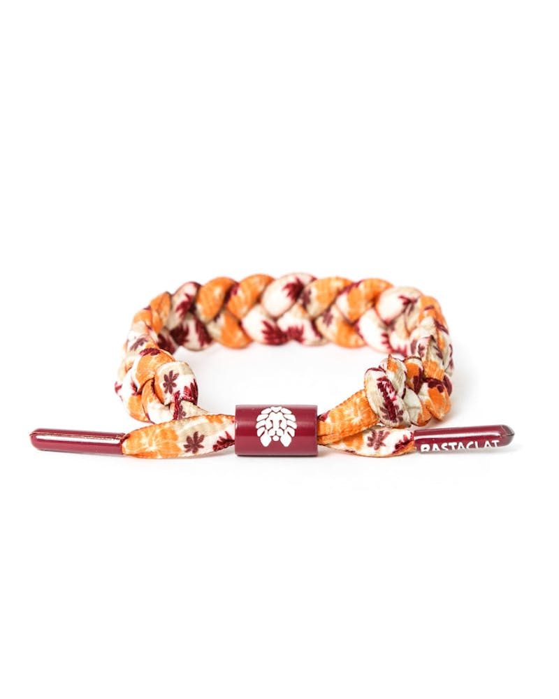 Rastaclat Bracelet Orange/burgundy