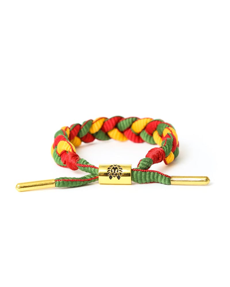Rastaclat Bracelet Yellow/green/re