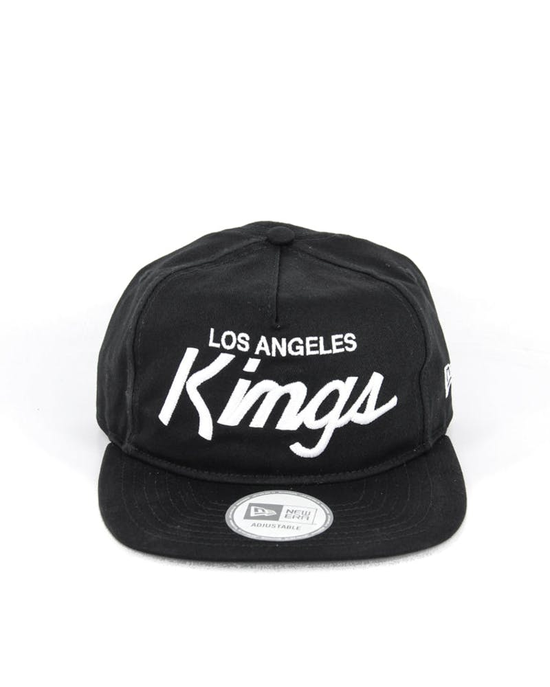 Kings Old Golfer Strap Back Black