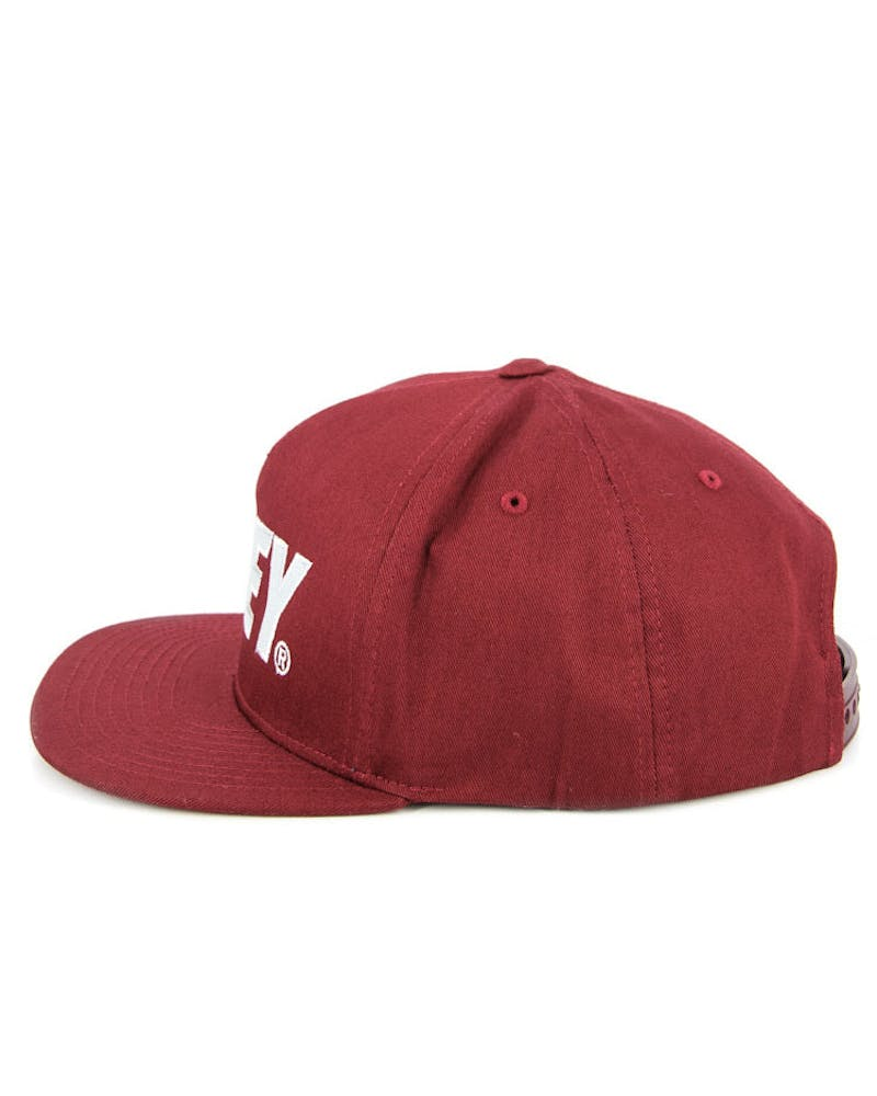 the City Snapback 3 Maroon