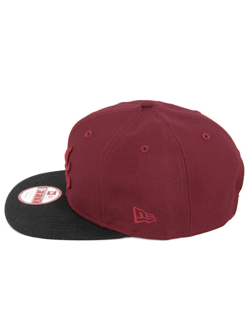 Braves Original Fit Snapback Cardinal/black