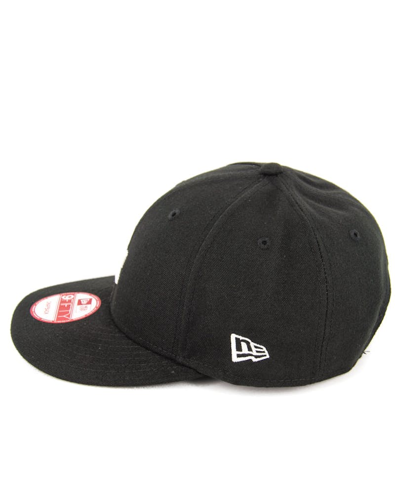 Dodgers Low Crown Snapback Black/white