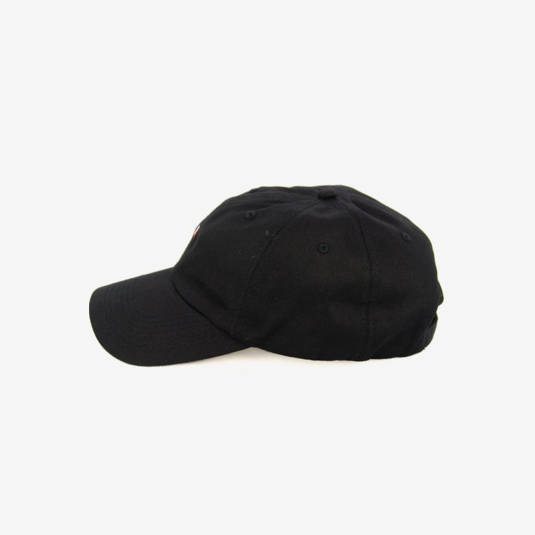 Flag Precurved Strapback Black