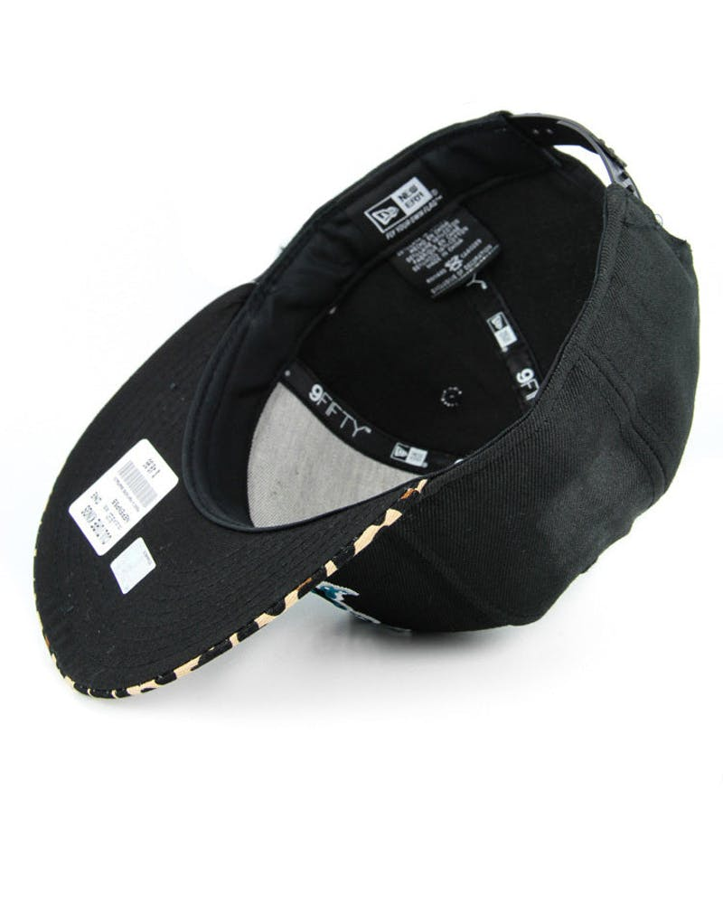 Saint George Dragons Snapback Black/leopard