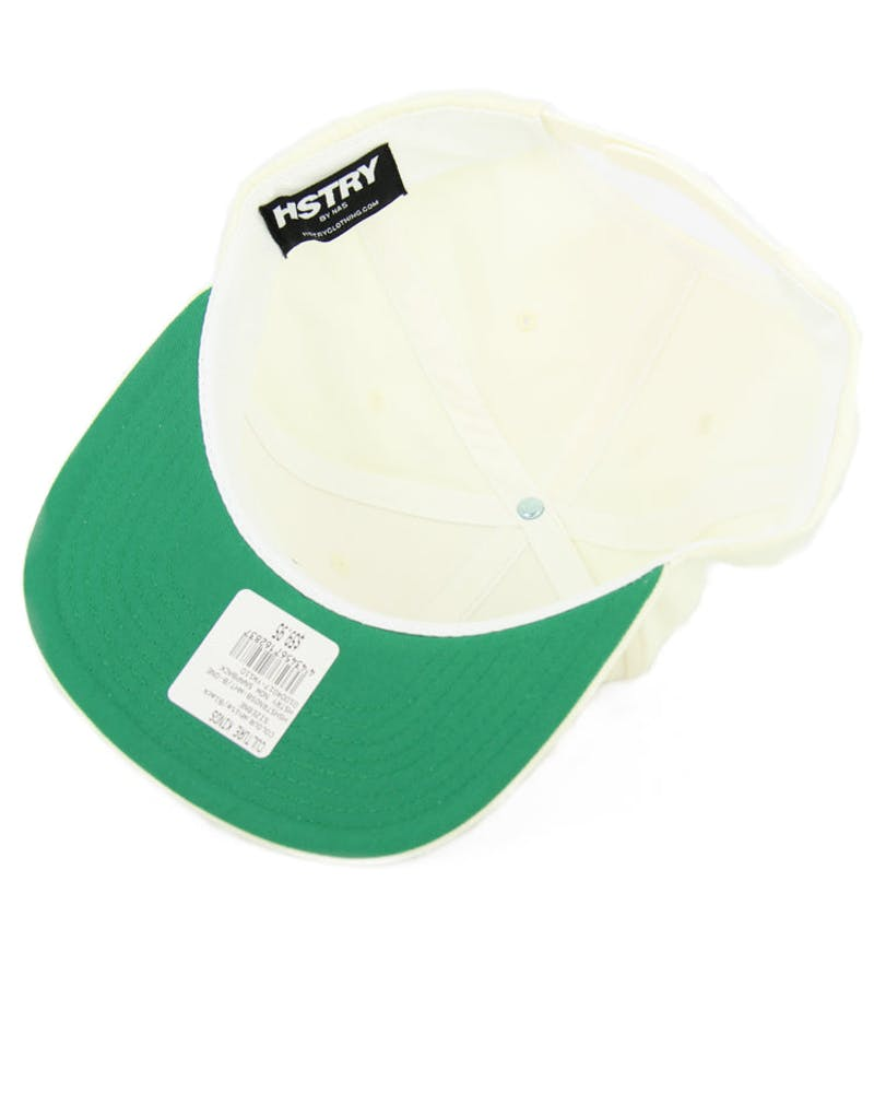 Hstry Now Snapback White/black