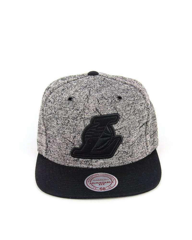 Lakers Grounded Snapback Grey/black