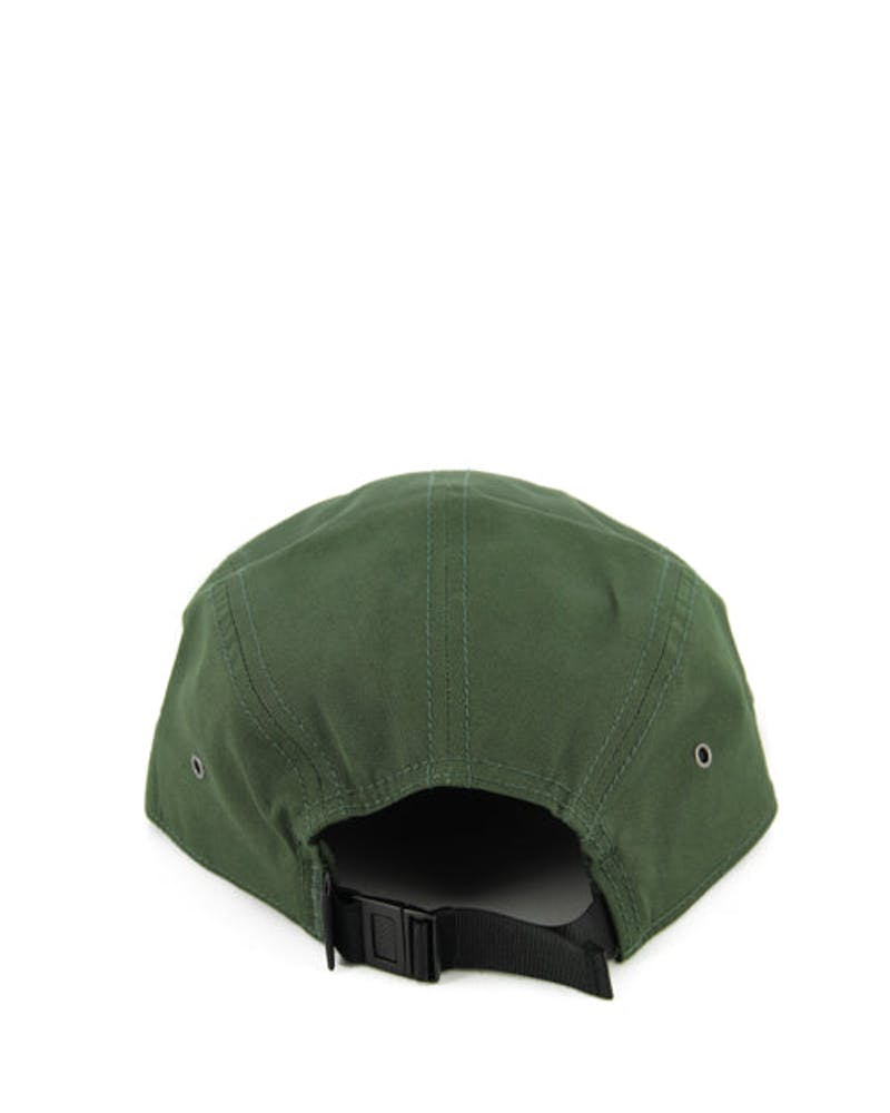 Retro Fitz Royal Label 5 Panel Army Green