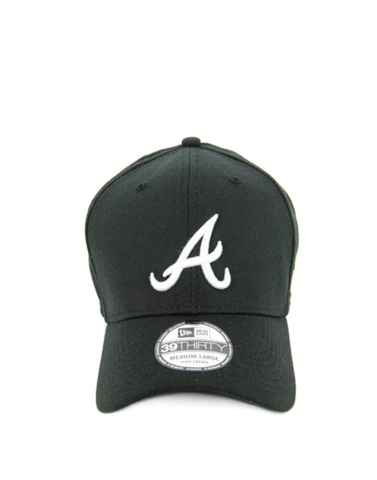 Braves High Crown 3930 Black/white