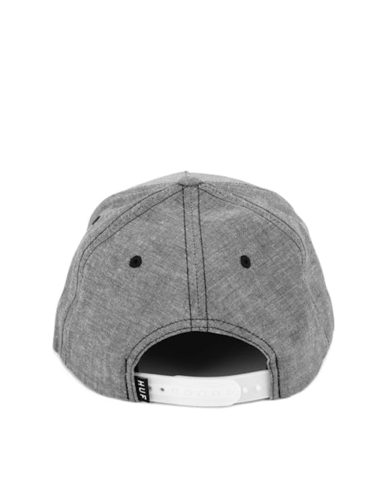 Chambray Box Logo Snapback Black
