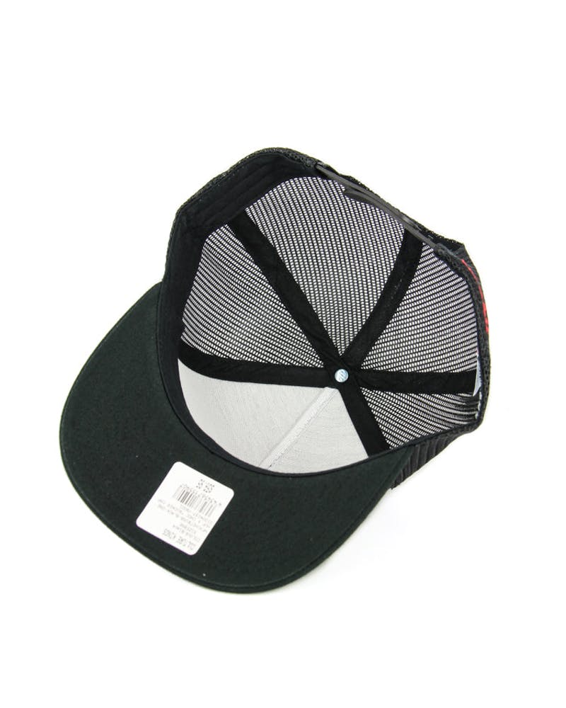 Huf X Chocolate Collaboration Trucker Cap Black