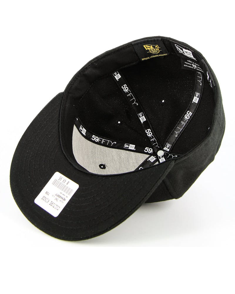 New Zealand Warriors Fashion Fitted Black/white