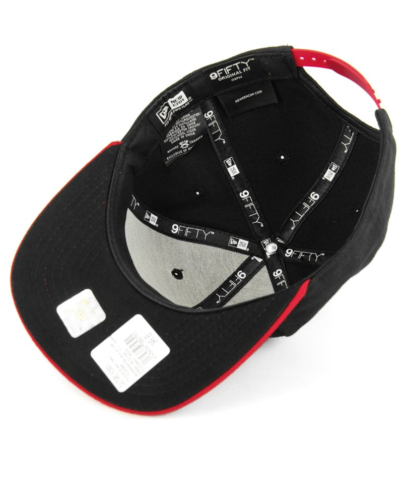 49ers Original Fit Snapback Black/red