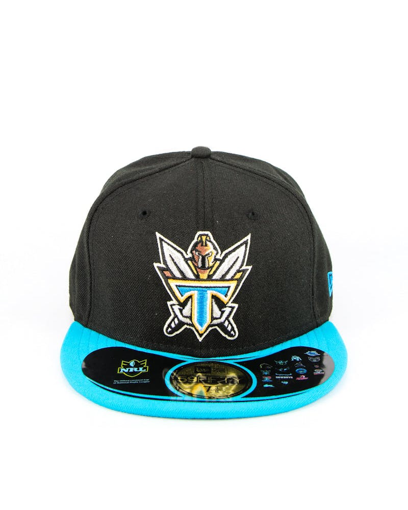 Gold Coast Titans Fashion Fitted Black/blue