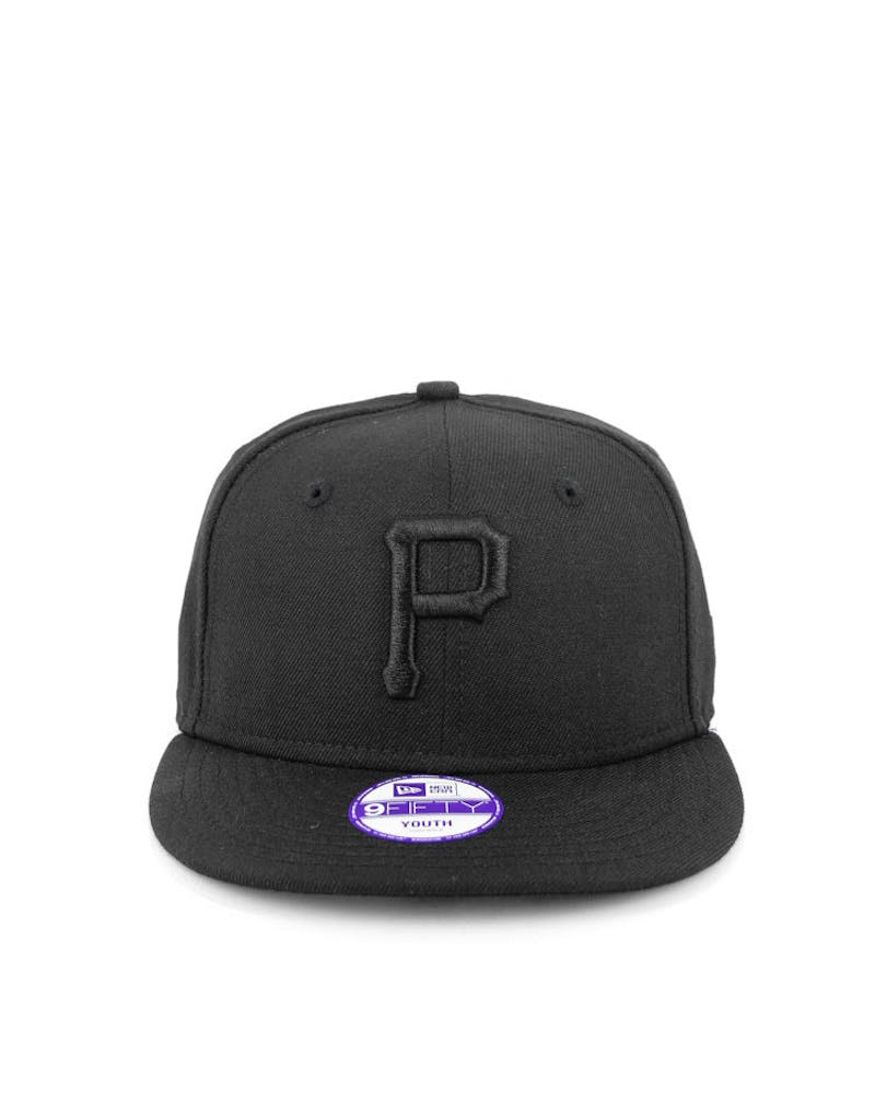 Pittsburgh Pirates Youth Black/black