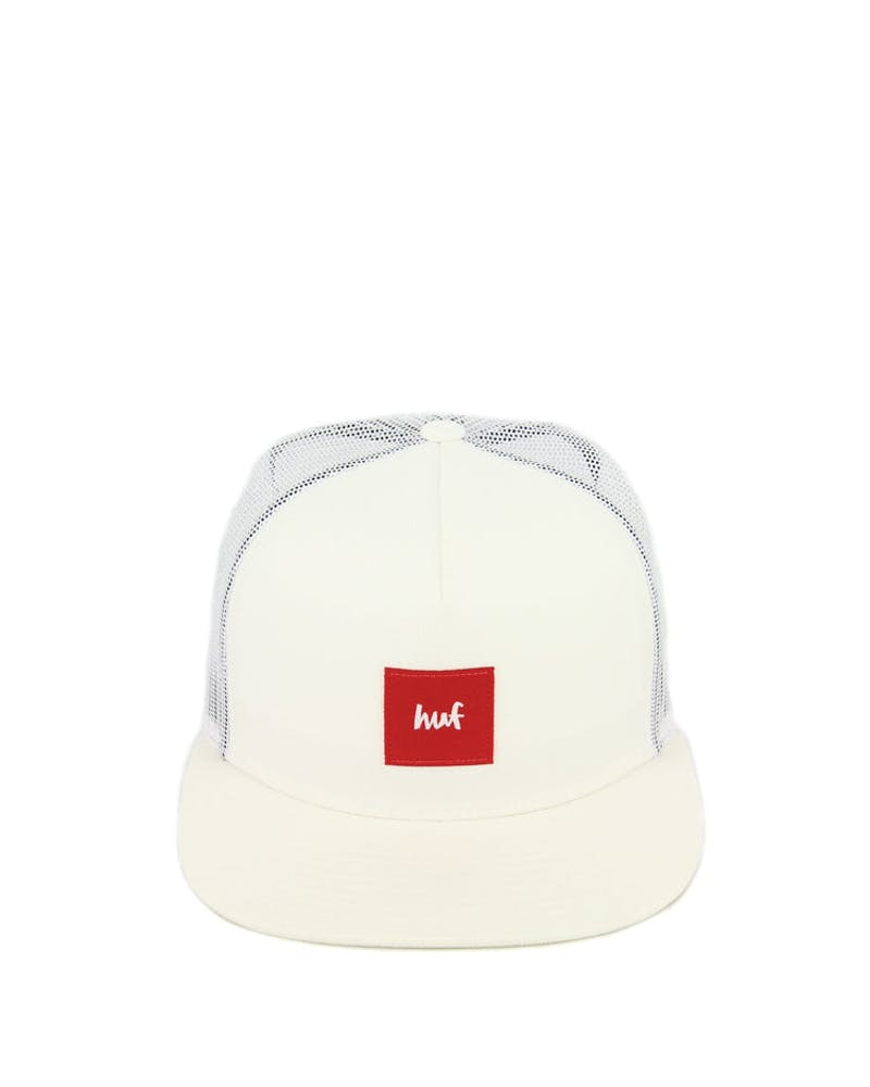 Huf X Chocolate Collaboration Trucker Cap White