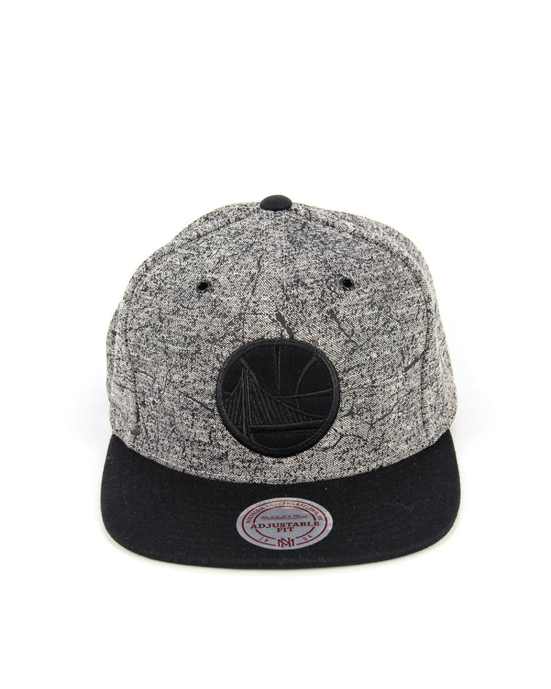 Warriors Grounded Snapback Grey/black