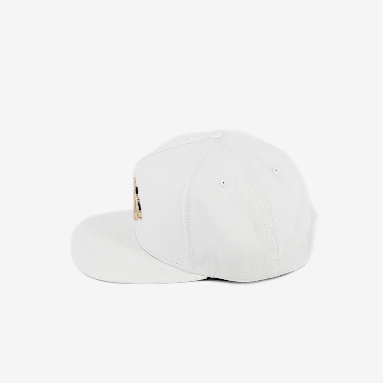 Paisley Native Metal Snapback White/gold