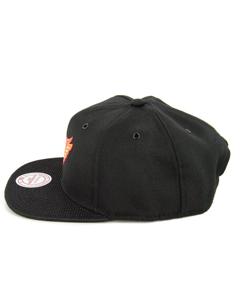 Redwings Carat Snapback Black