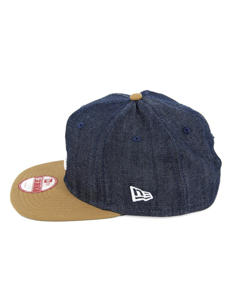 Dodgers Original Fit Snapback Denim/wheat/whi