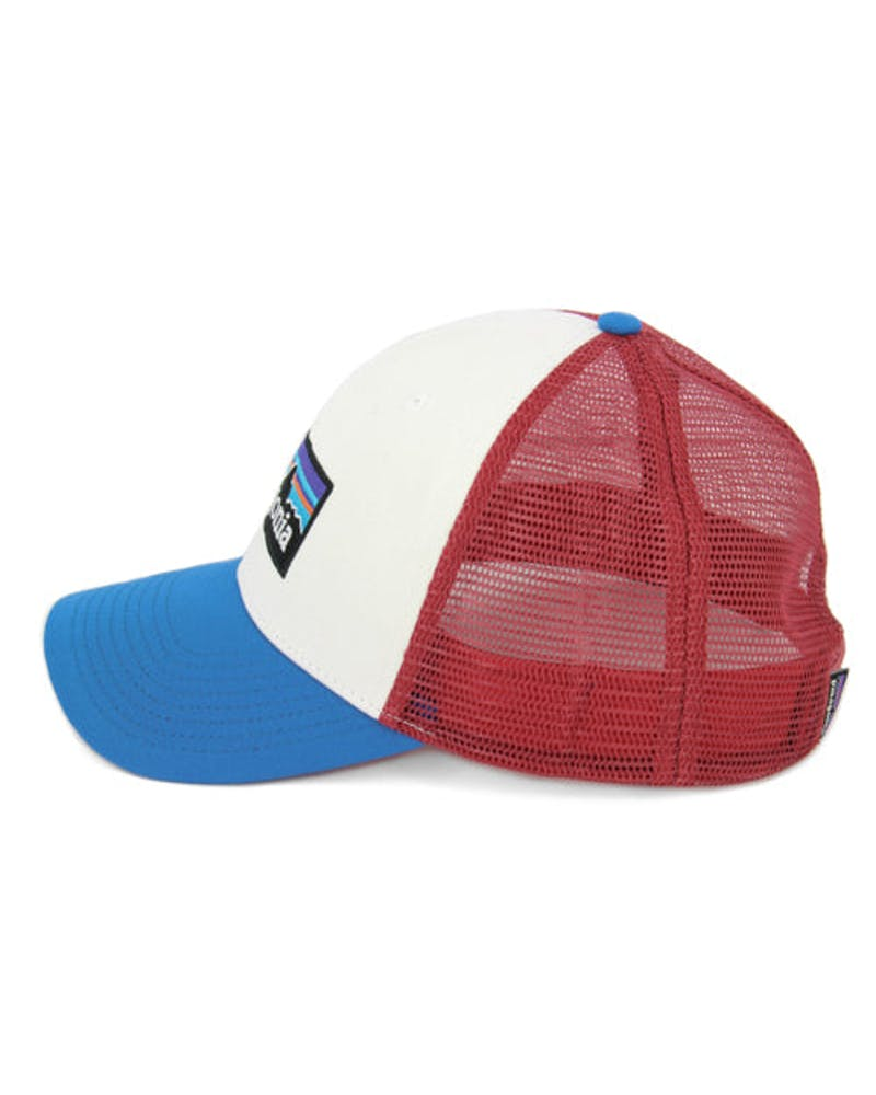 P6 Trucker Hat White/blue