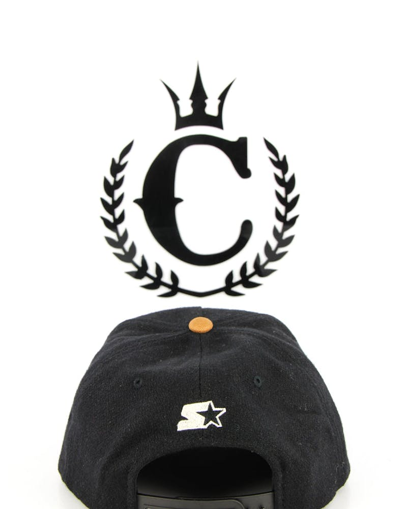 Neal Starter Cap Black/brown