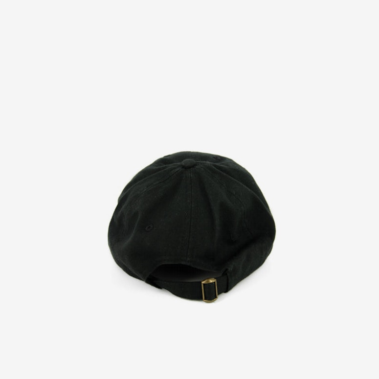 Rap Curved Strapback Black