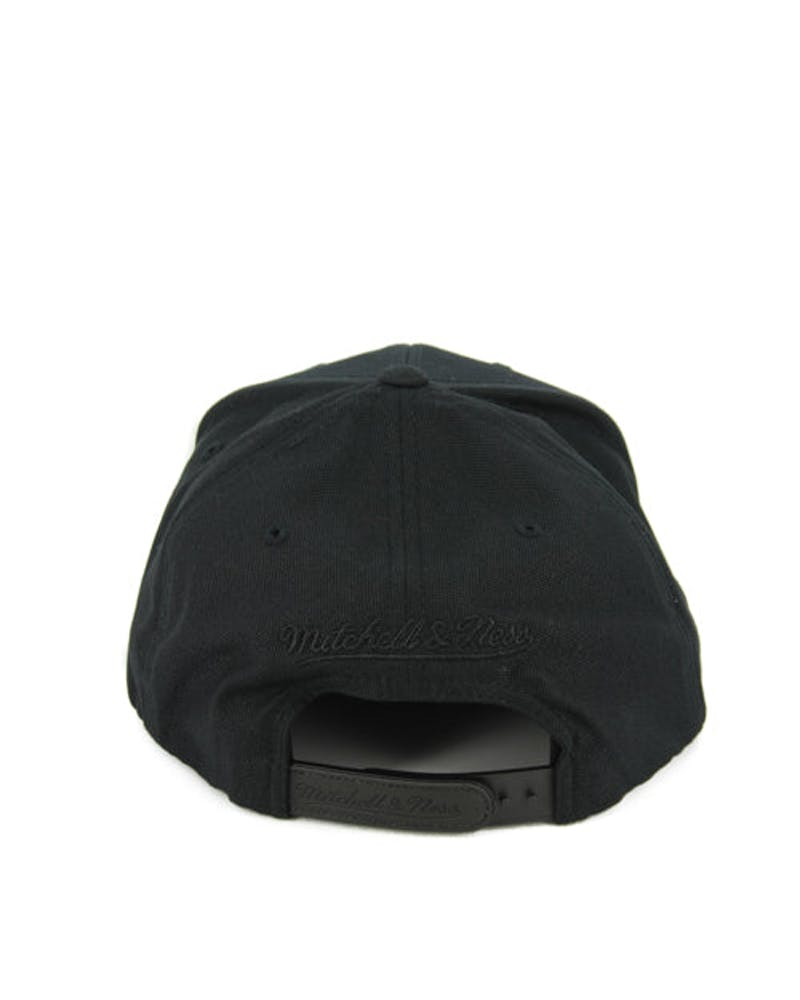 Raptors Motion Snapback Black/black