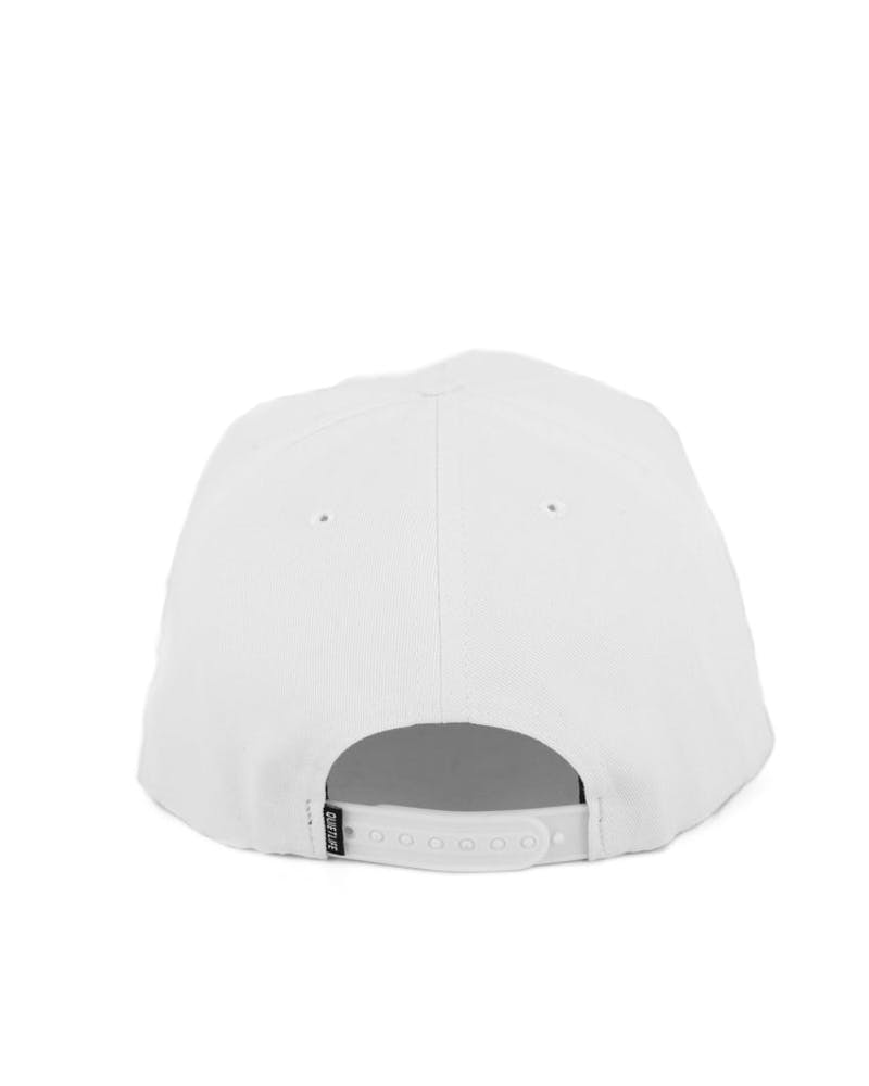 Flag Pole Snapback White