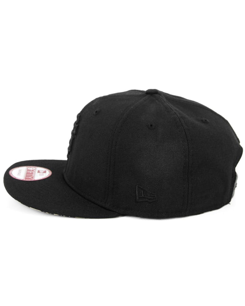 Sanfran Giants Snapback2 Black/leopard
