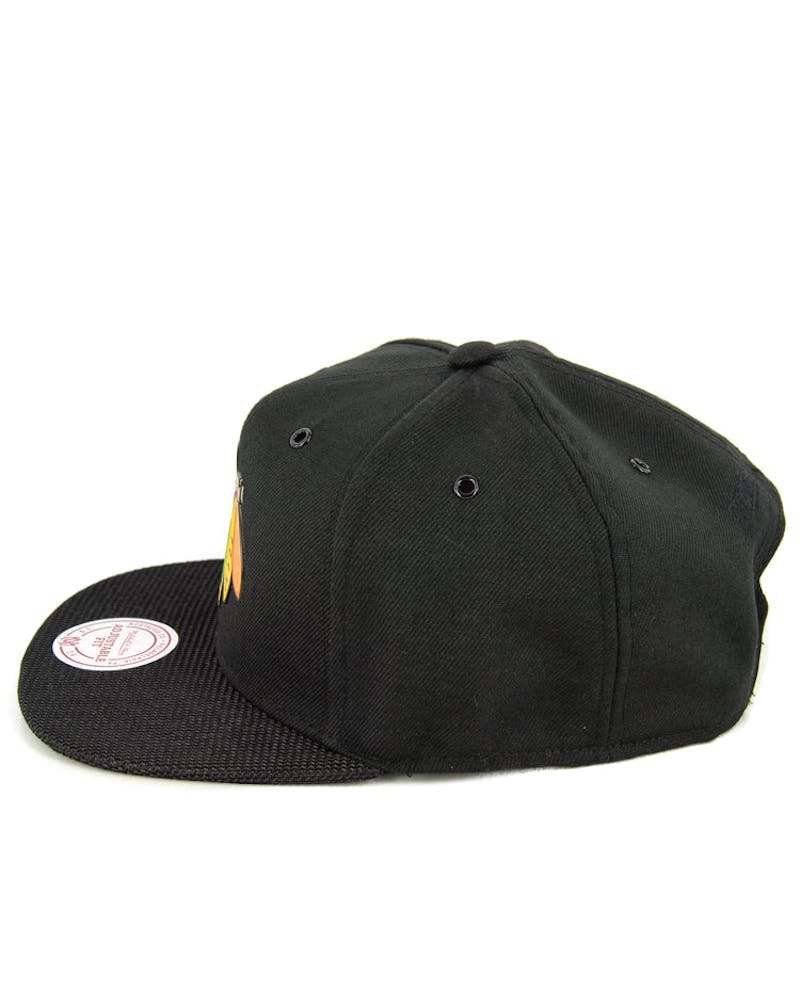 Blackhawks Carat Snapback Black