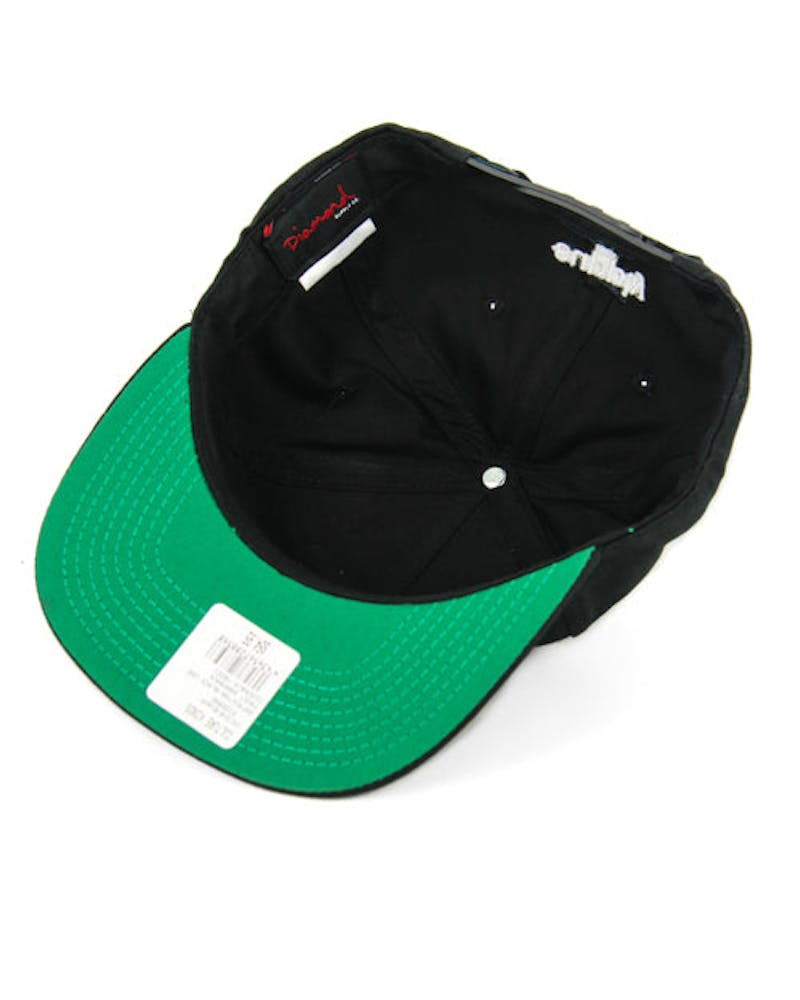 Facet Snapback Black