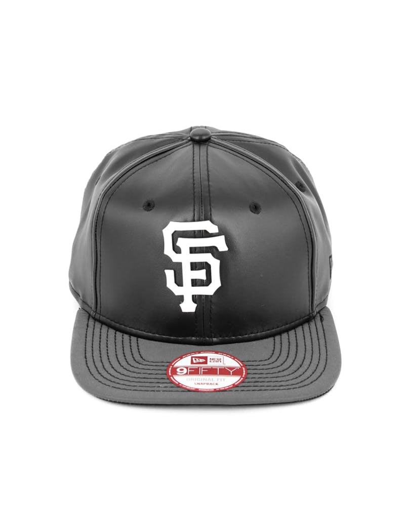 Giants Orig.fit Metal Snapback Black/white