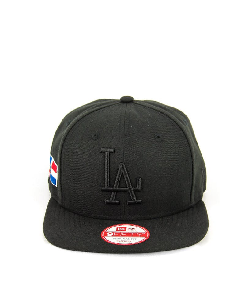 Dodgers Original Fit Snapback Black/black