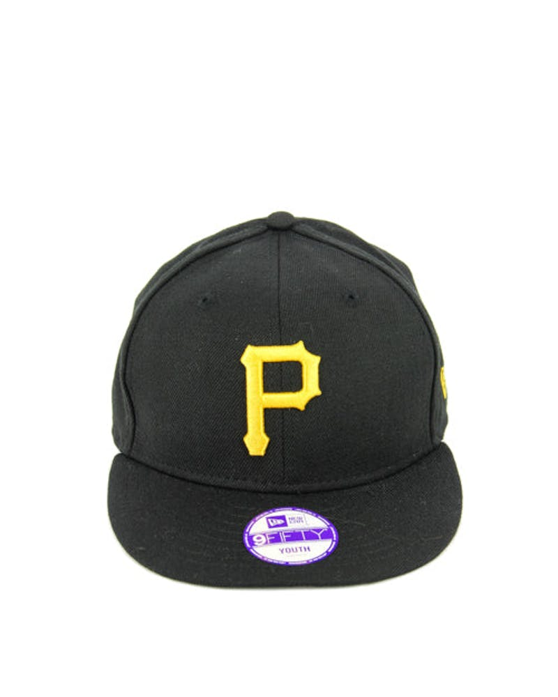 Pirates Youth Snapback Black/yellow