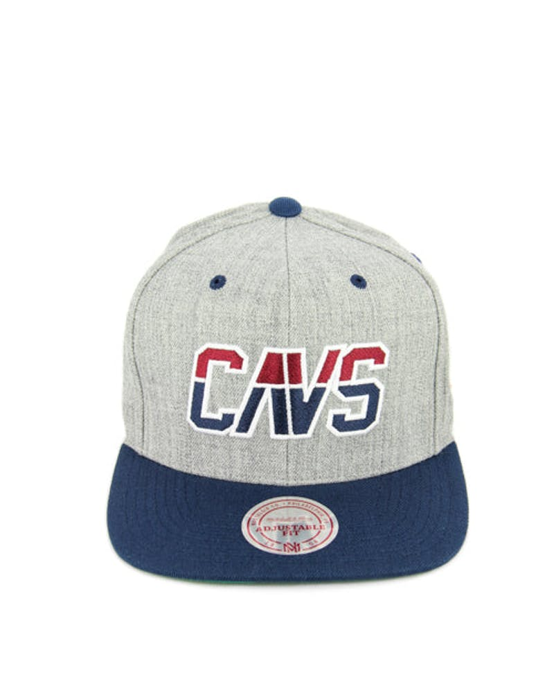 Cavaliers Team Usa Snapback Heather Grey/na